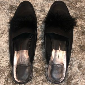 Dolce Vita Leather Feature mules